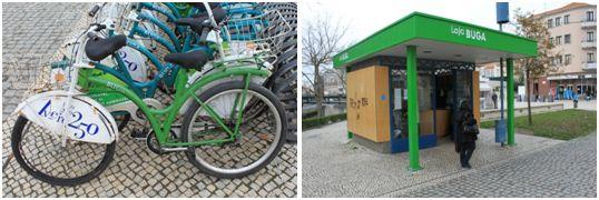 Figura 1 - Bicicletas e Loja BUGA